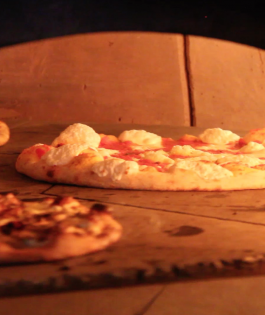 Fast casual brick oven pizza