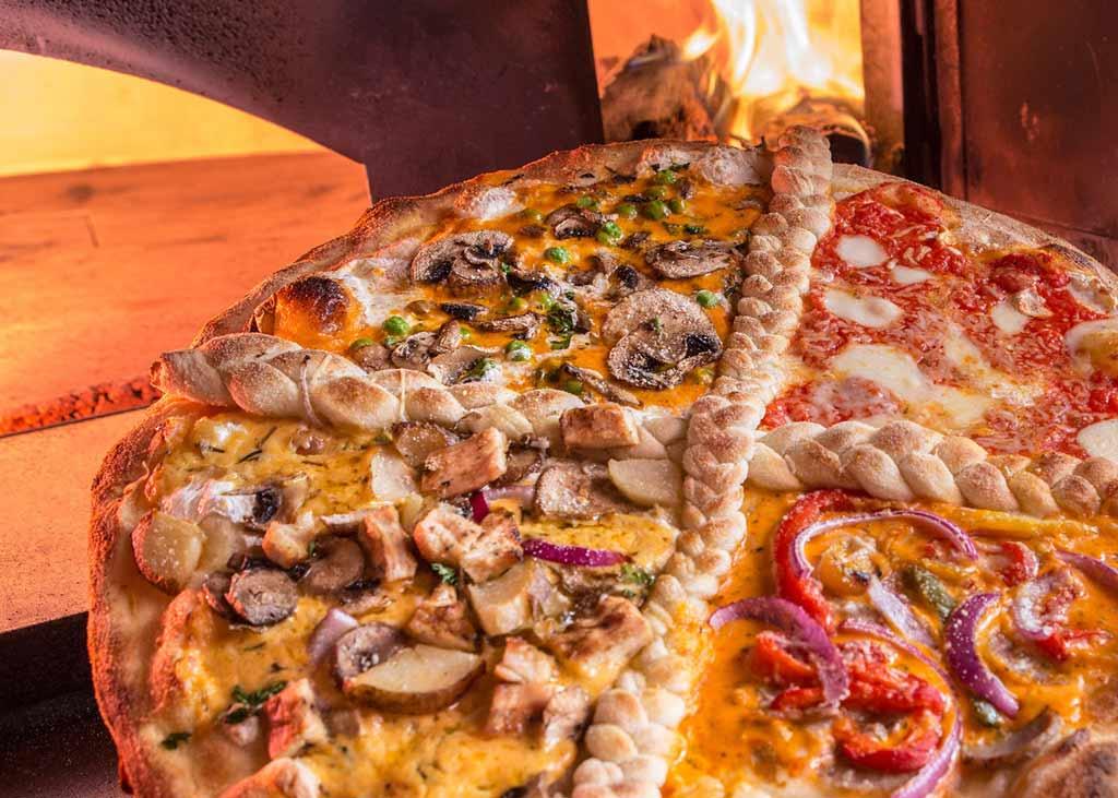 Food Presentation for Pizza