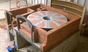 Revolving Brick Oven