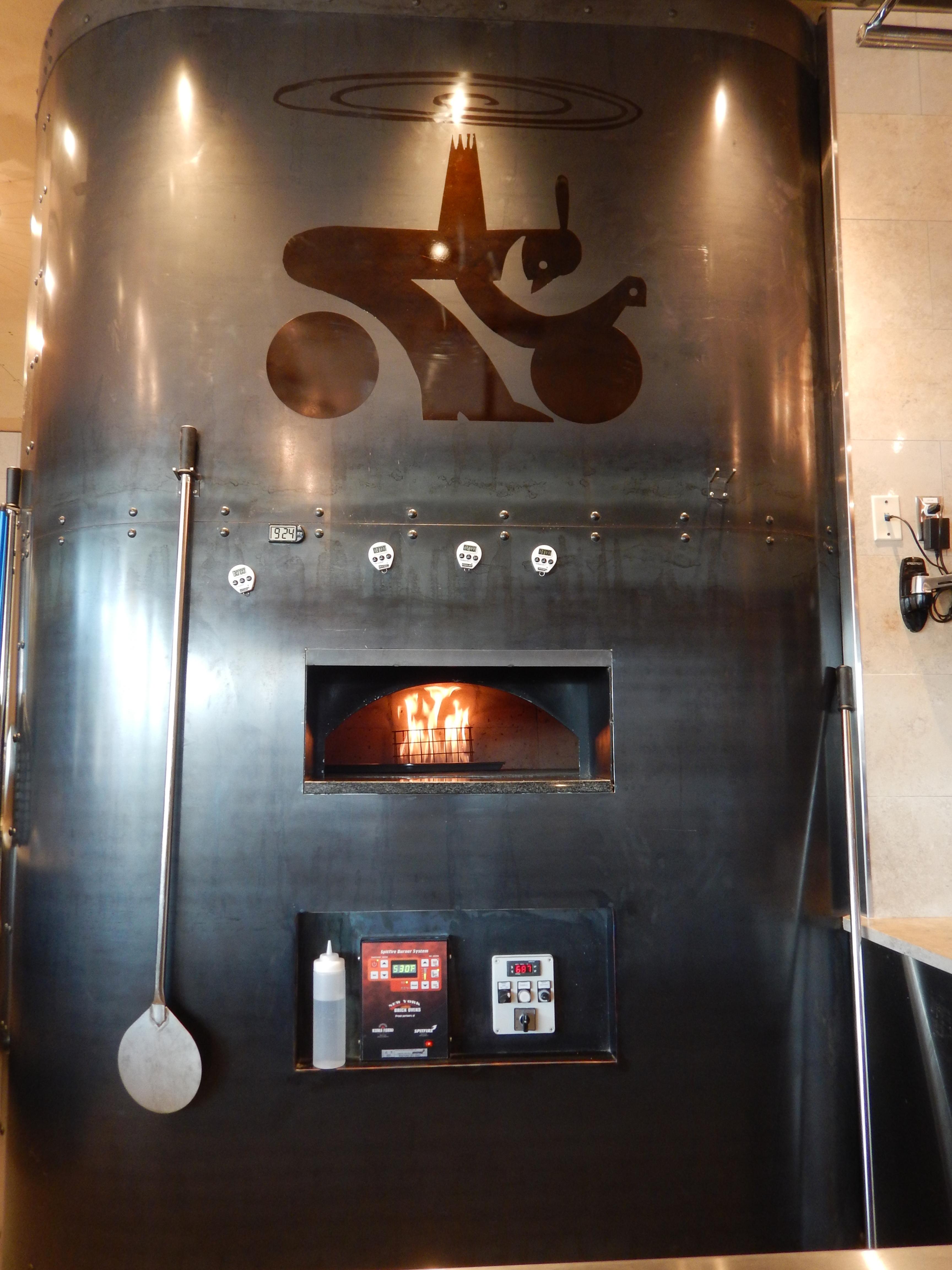 Revoling Brick Ovens