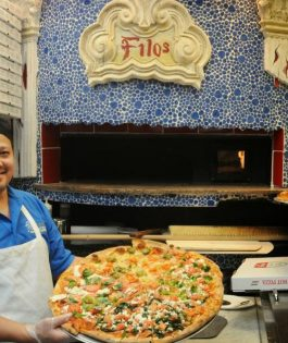 Five ways to succeed in the pizza business