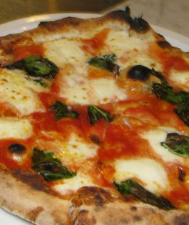 Cooked Neapolitan Pizza