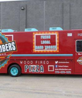 Mobile Pizza truck