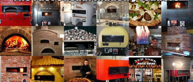Pizza Equipment-Revolving Brick Ovens