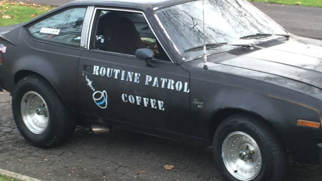 Amc Hot Rod for Routine Patrol Coffee