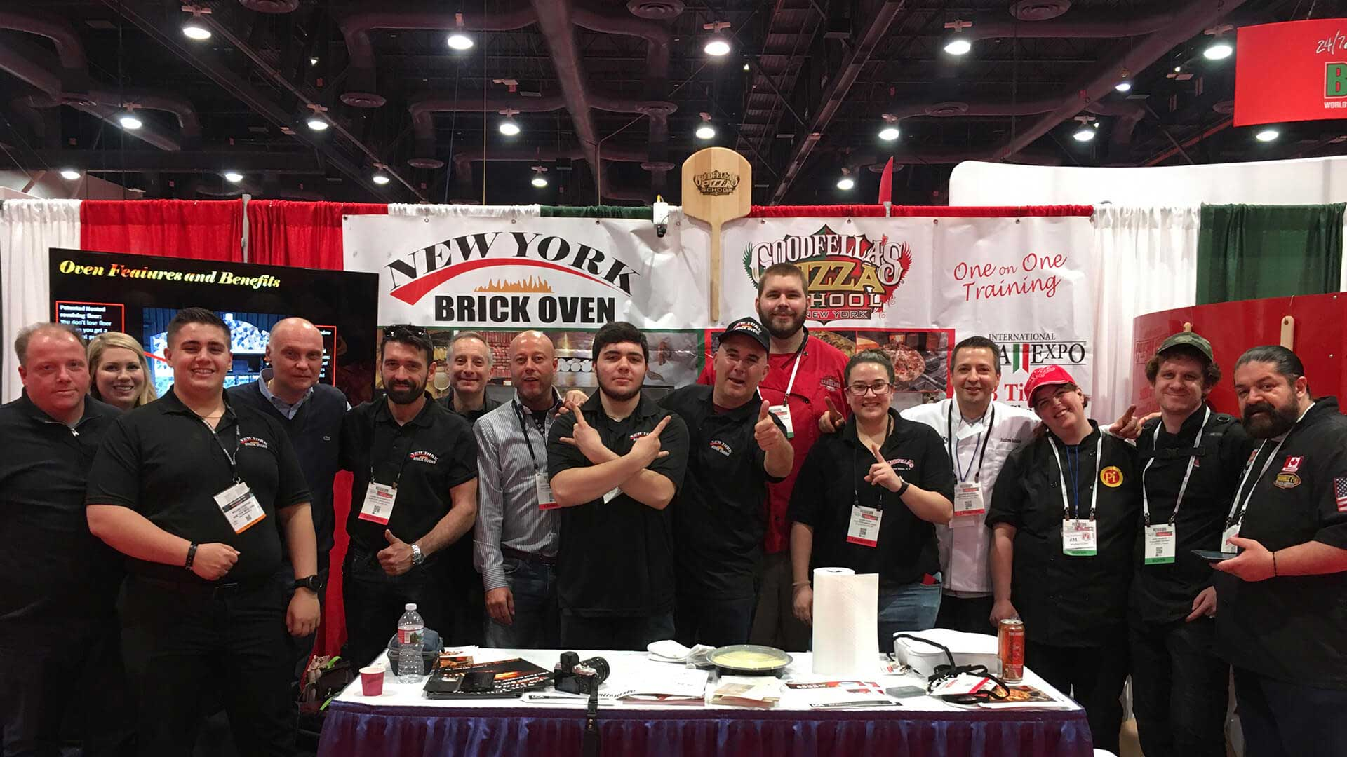 Artisan Oven Builders and World Champion Pizza Makers