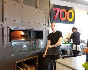 700f Revolving Brick Oven