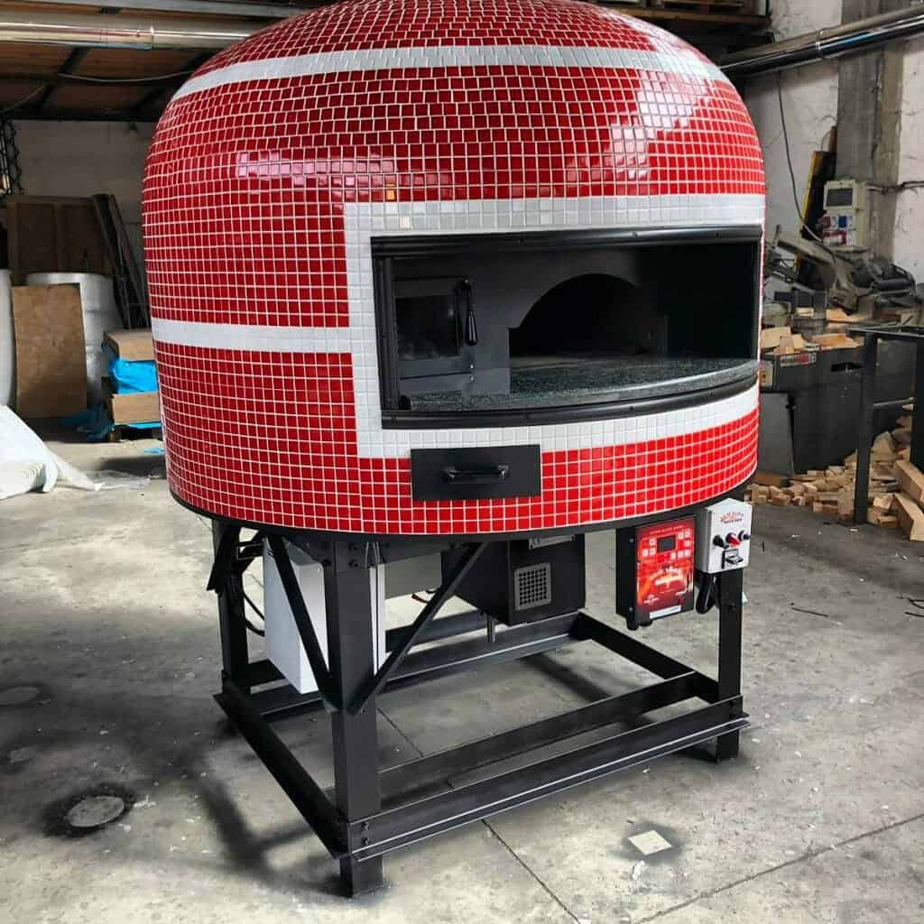 Brick Ovens For Pizza Trailers