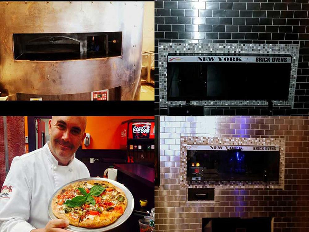 revolving oven